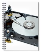 Hard Drive Security Spiral Notebook