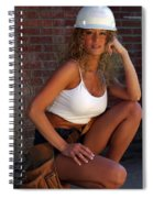 Hard Hat Spiral Notebook