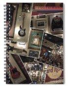 Hard Rock Cafe Hollywood Florida Spiral Notebook