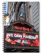 Hard Rock Cafe New York Spiral Notebook