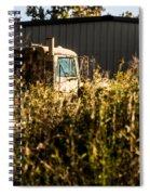 Hard Work On The Farm Spiral Notebook