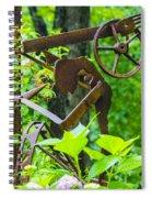 Hard Working Man Spiral Notebook