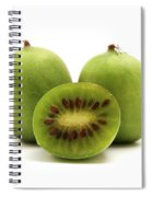Hardy Kiwifruit Spiral Notebook