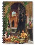 Harem Women Spiral Notebook