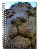 Harlaxton Lions Spiral Notebook