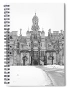 Harlaxton Manor Spiral Notebook