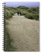 Harlech Dunes Spiral Notebook