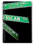 Harlem Crossroads Spiral Notebook