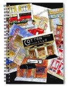 Harlem Jazz Clubs Spiral Notebook