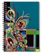 Harlequin Spiral Notebook