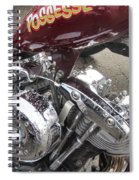 Harley Close-up Possessed Spiral Notebook