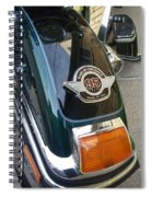 Harley Close-up Tail Light Spiral Notebook