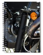 Harley Cycle Spiral Notebook