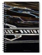 Harley Davidson 1 Spiral Notebook