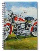 Harley Davidson 1943 Spiral Notebook