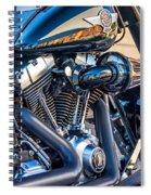 Harley Davidson 2 Spiral Notebook