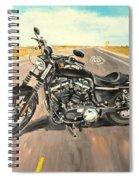 Harley Davidson 883 Sportster Spiral Notebook