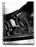 Harley Davidson  Military  Spiral Notebook