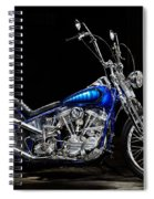 Harley-davidson Panhead Chopper From The Wild Angels Spiral Notebook