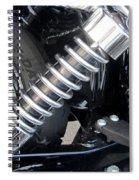 Harley Engine Close-up 2 Spiral Notebook