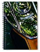 Harley Tank In Oils Spiral Notebook