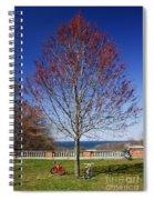 Harmonic Tremors Spiral Notebook