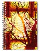 Harmonious Colors - Sunset Spiral Notebook