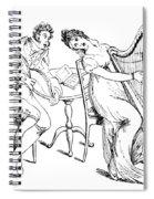 Harmony Before Matrimony, 1886 Spiral Notebook