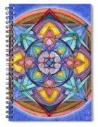 Harmony Mandala Spiral Notebook
