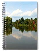 Harmony On The Boyne River Spiral Notebook