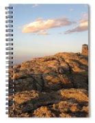 Harney Peak At Dusk Spiral Notebook