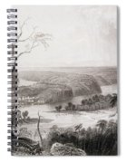 Harpers Ferry, West Virginia, From The History Of The United States, Vol. II, By Charles Mackay Spiral Notebook