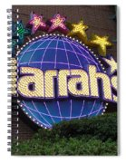 Harrahs Of New Orleans Spiral Notebook