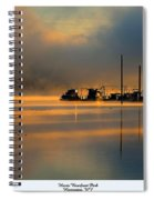 Harris Riverfront Park Spiral Notebook