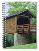 Harrisburg Covered Bridge Spiral Notebook