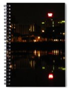 Harrisburg Night Lights Spiral Notebook