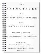 Harrison Timekeeper Spiral Notebook