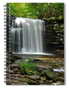 Harrison Wright Falls Spiral Notebook