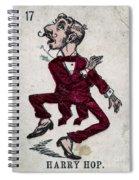 Harry Hop Spiral Notebook