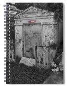 Harry T Hays Major General Lafayette Cemetery 1 Dsc05175 Spiral Notebook