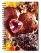 Hart Melting In Color Snow Spiral Notebook