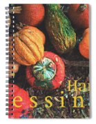 Harvest Blessings Spiral Notebook