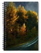 Harvest Moon Another Starry Night Spiral Notebook