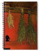Harvest Of Herbs Spiral Notebook