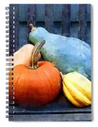 Harvest Rustic Spiral Notebook