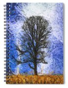 Harvest Storm Spiral Notebook