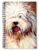 Harvey The Sheepdog Spiral Notebook