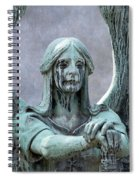 Haserot Weeping Angel Spiral Notebook