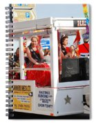 Hastings Carnival Queen Spiral Notebook