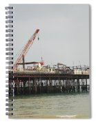 Hastings Pier Reconstruction Spiral Notebook